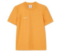 Besticktes T-shirt aus Baumwoll-jersey