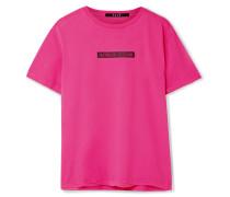 Day Dreams T-shirt aus Bedrucktem Baumwoll-jersey