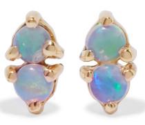 Two Step Ohrringe aus  mit Opalen