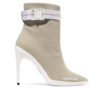 For Walking Ankle Boots aus Canvas