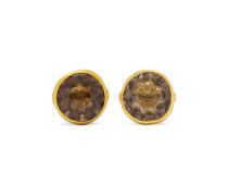 Ohrringe aus 18 Karat  mit Quarzen