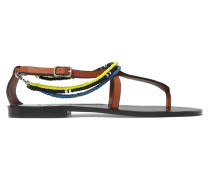 + Paula's Ibiza Verzierte Sandalen aus Leder