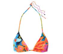 Rae Triangel-bikini-oberteil mit Blumendruck