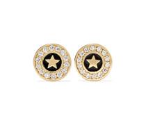 Star Ohrringe aus 14 Karat