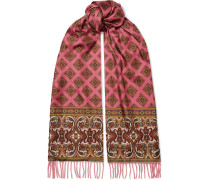 Schal aus Kaschmir und Seiden-twill