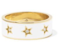 Star Ring aus 18 Karat