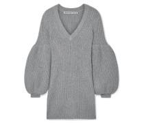 Minikleid aus einer Wollmischung