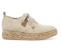 Gavi Espadrille-sneakers aus Leinen