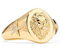 Strength Ring aus 18 Karat  mit Diamanten