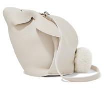 Bunny Mini Schultertasche aus Strukturiertem Leder