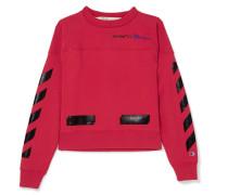 + Champion Bedrucktes Sweatshirt aus Jersey aus einer Baumwollmischung