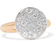 Sabbia Ring aus 18 Karat  mit Diamanten