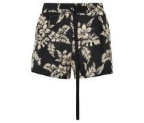 Floral Bedruckte Shorts aus Seiden-georgette