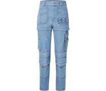 Wandelbare, Hoch Sitzende Jeans