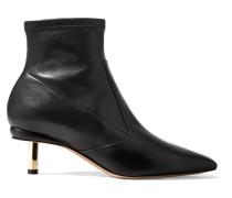 Polly Sock Boots aus Leder