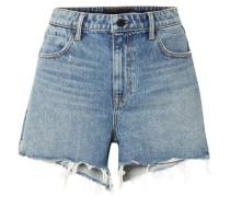 Bite Ausgefranste Jeansshorts