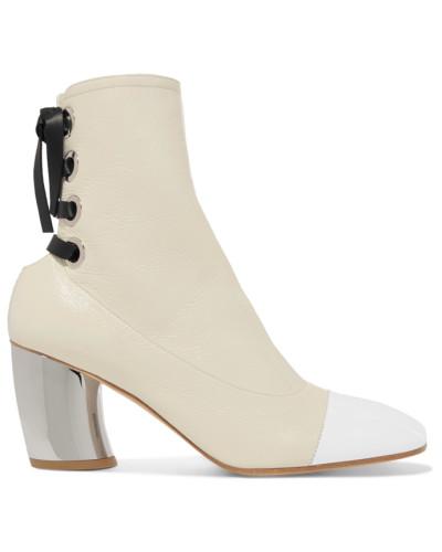 Proenza Schouler Damen Ankle Boots aus Strukturiertem Glanzleder Auslass Echt 100% Original Online Auslass-Angebote Bestseller Verkauf Online hWtJ6rQZ