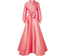 Verzierte Robe aus Duchesse-satin