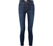 Halbhohe Skinny Jeans