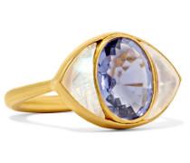 Lucky Eye Ring aus 22 Karat