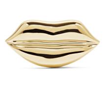 Lip Ohrring aus 14 Karat