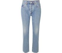 Benefit Hoch Sitzende Jeans mit Geradem Bein