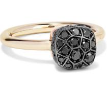 Nudo Ring aus 18 Karat  mit Diamanten