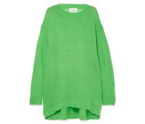 Slime Oversized-pullover in Lochstrick