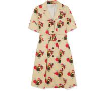 Kleid aus Baumwoll-twill