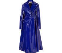 Mantel aus Lacklederimitat