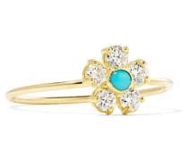 Flower Ring aus 18 Karat