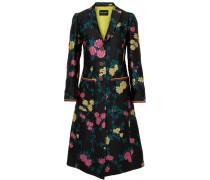 Mantel aus Floralem Jacquard