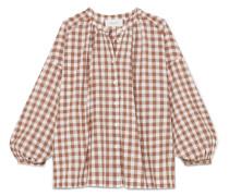 The Handsome Oversized-hemd aus Baumwoll-voile