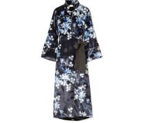 New Sunrise Kimono aus Samt mit Blumenprint