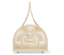 Dome Mini Clutch aus Bambus
