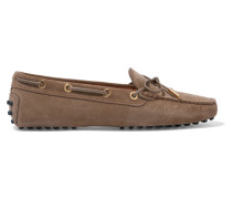Gommino Loafers aus Veloursleder