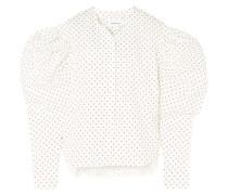 Hemd aus Baumwollpopeline mit Polka-dots