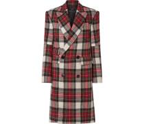 Kendall Doppelreihiger Mantel aus Wolle