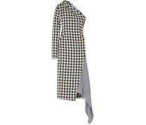 Asymmetrisches Kleid aus einer Wollmischung