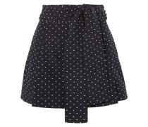 Black Lake Bestickte Shorts aus Baumwolle