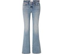 The Jarvis Halbhohe Jeans mit Schlag