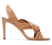 Leila 85 Slingback-sandalen aus Leder