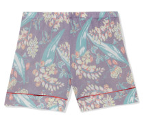 Shorts aus einer Kaschmir-seidenmischung