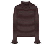 Pullover aus Wolle mit Streifen