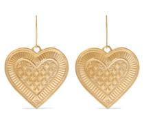 Cross My Heart Ohrringe aus 22 Karat