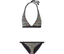 Mare Triangel-bikini aus Strick in Häkeloptik