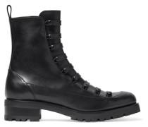 Swing Ankle Boots aus Leder