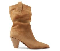 Boogie 70 Ankle Boots aus Veloursleder
