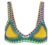 Ro Triangel-bikini-oberteil mit Häkelbesatz