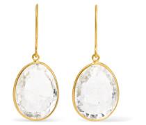Ohrringe aus 18 Karat  mit Kristallen